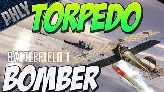 getlinkyoutube.com-BIGGEST BF1 EXPLOSION - Torpedo Bomber Vs DreadNOUGHT (Battlefield 1 Gameplay)