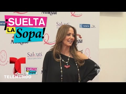 Suelta la Sopa   Andrea Legarreta habla sobre la salida de Carmen Aristegui de la radio   Telemundo