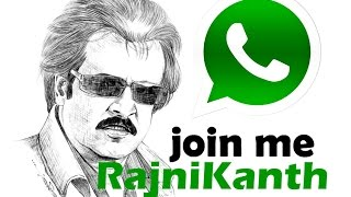 Rajinikanth WhatsApp Number