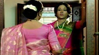 Evandi Aavida Vachindi Movie || Sarada Insulting Vani Sri Scene || Shobhan Babu,Vani Sri,Sarada