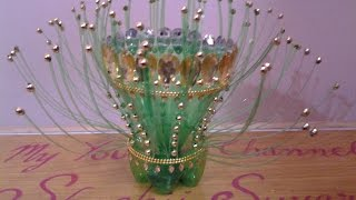 Best Out Of Waste Plastic Bottles Stylish Centre piece