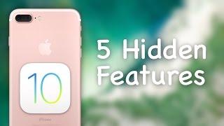 getlinkyoutube.com-5 Hidden Features in iOS 10!