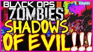 getlinkyoutube.com-Shadows of Evil BEST & FULL Solo Strategy Walkthrough, Wonder Gun, Easter Eggs (Black Ops 3 Zombies)