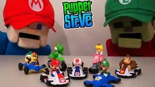 Mario Kart 8 McDonalds Happy Meal Toys Unboxing Nintendo Switch