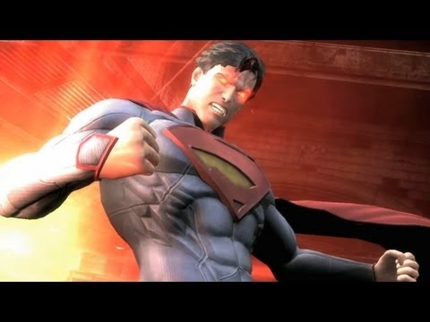 Superman vs. Green Lantern - Injustice: Gods Among Us