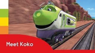 getlinkyoutube.com-Meet Chuggington's US Speedy Koko - NEW character montage!