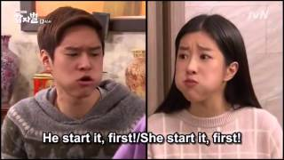 getlinkyoutube.com-Real life between brother and sister (in korean drama)