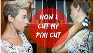 getlinkyoutube.com-How I Shave and Cut My Pixi Haircut