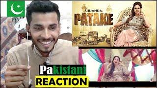 Pakistani Reacti  on on PATAKE Song : Sunanda Sharma : Latest Punjabi Songs 2018 width=