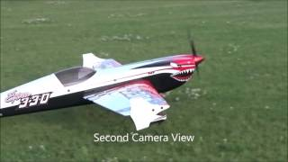 Redwing Rc 50cc Extra 330s Maiden Flights