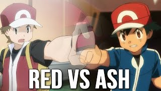 getlinkyoutube.com-☆Red VS Ash/Satoshi [Mega Charizard X VS Pikachu/Greninja]☆