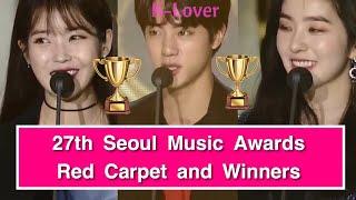 27th Seoul Music Awards Red Carpet and Full Winners List