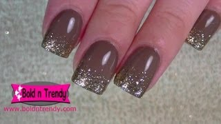 getlinkyoutube.com-Natural Acrylic Nails Fill (Infill)
