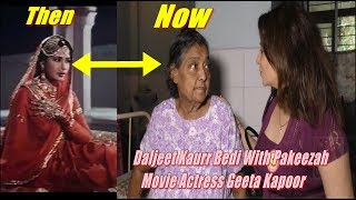 Shocking: Pakeezah Actress Geeta Kapoor Left Alone In Hospital By Her Son width=