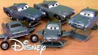 getlinkyoutube.com-Cars 2 Hydro Finn McMissile Chase 2013 Metallic Finish Diecast NEW Disney Pixar Toys Collection