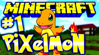 Minecraft Pixelmon | Ep 1 | Minecraft Pixelmon Episode 1 w/ Greenskull