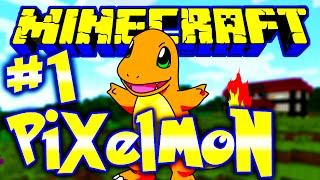 getlinkyoutube.com-Minecraft Pixelmon | Ep 1 | Minecraft Pixelmon Episode 1 w/ Greenskull