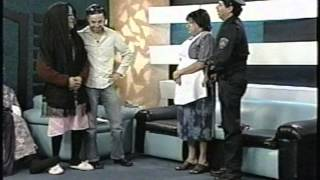 getlinkyoutube.com-Black and White Doña Margara vs Doña Chole