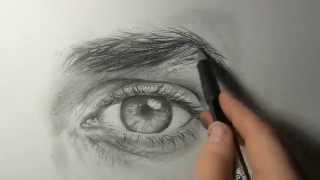 "getlinkyoutube.com-Akiane - ""Drawing an Eye"" Demo #1"