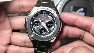 getlinkyoutube.com-Casio G-shock G-steel GST-S110D-1A | G-STEEL SERIESS