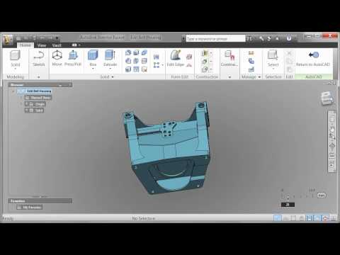 AutoCAD 2012 - Demo Video - Autodesk Fusion