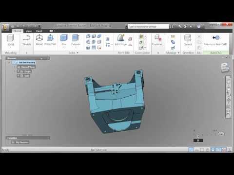 AutoCAD 2012 - Demo Video - Autodesk Fusion