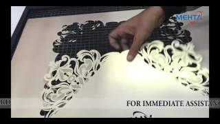 getlinkyoutube.com-Mehta High Speed Laser Engraver Erina 100 demo