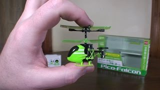 getlinkyoutube.com-Silverlit - Pico Falcon (2015 World's Smallest RC Helicopter) - Review and Flight