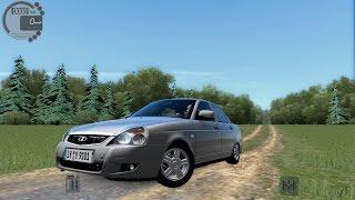 getlinkyoutube.com-City Car Driving 1.5.3 Lada Priora 2014 [G27]
