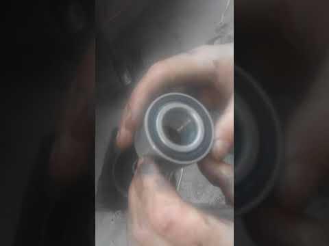 Замена подшипника задней ступицы  на рено