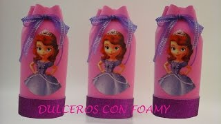 getlinkyoutube.com-DULCERO DE PRINCESITA SOFIA CON FOAMY
