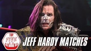 getlinkyoutube.com-Jeff Hardy's Top 5 TNA Matches | Fight Network Flashback