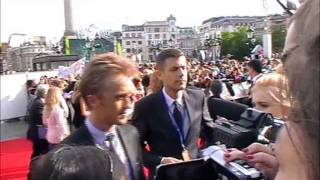 Tom Felton at the Harry Potter World Premiere