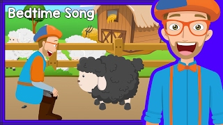 getlinkyoutube.com-Bedtime Songs with Blippi | Baa Baa Black Sheep - Lullaby for Sleep