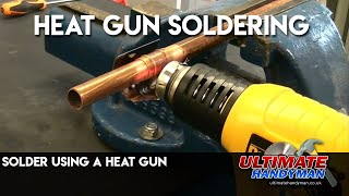 getlinkyoutube.com-Solder using a heat gun