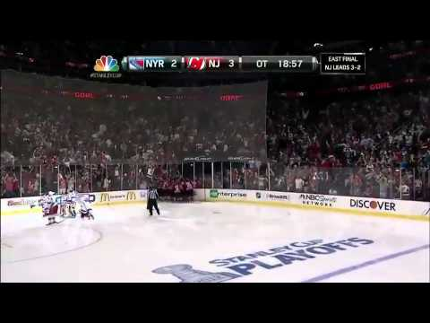 NHL: Adam Henrique OT Goal Against Rangers Game 6 5/25/12