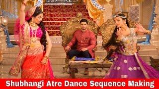 getlinkyoutube.com-Adhuri Kahaani Hamari on And TV | Shubhangi Atre Dance Sequence Making