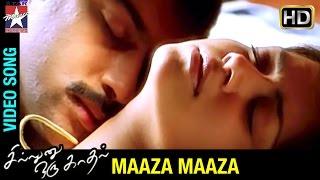 Sillunu Oru Kadhal Tamil Movie Songs | Maaza Maaza Song | Suriya | Jyothika | Bhumika | AR Rahman