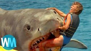 Top 10 Scariest Movie Shark Attacks width=