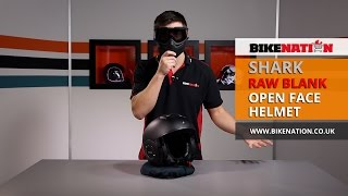 getlinkyoutube.com-Shark Helmets - Raw Blank Helmet - BikeNation