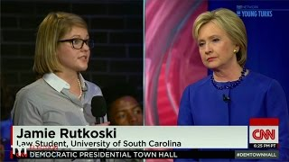 getlinkyoutube.com-CNN Democratic Town Hall: The Best Line Was…
