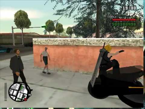 Gta san andreas mods Cloud strife