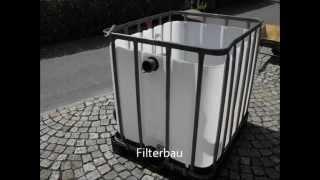 getlinkyoutube.com-Filterbau - Teichfilter - Gartenteichfilteranlage