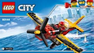 Лего Сити 2017 ГОНОЧНЫЙ САМОЛЁТ LEGO City Great Vehicles RACE PLANE 60144