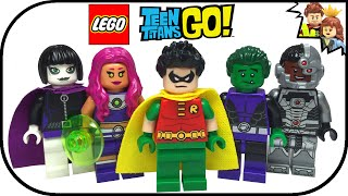 getlinkyoutube.com-LEGO Teen Titans Go Collection with CUSTOM RAVEN