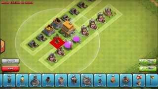 getlinkyoutube.com-Clash of Clans - Como hacer la mejor aldea #1 TH-6