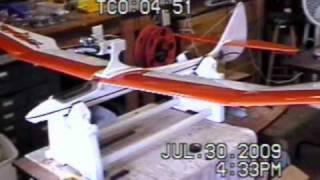 getlinkyoutube.com-RC MODEL Bird of Time Sailplane Glider ARF by Dynaflite AIRCRAFT Roy Dawson Realtor