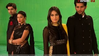 getlinkyoutube.com-Qubool Hai | BTS | Shoot of the Break Bumper