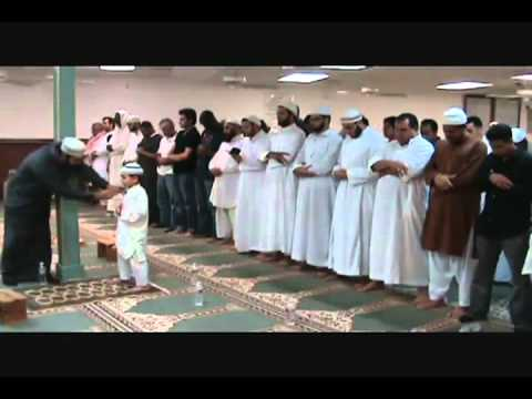 7 years old  @ Mosque Islamiah Houston Texas Usa (Mach'ALLAH)