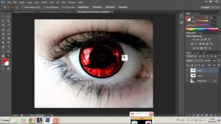 getlinkyoutube.com-Como Fazer o Sharingan no Photoshop CS6